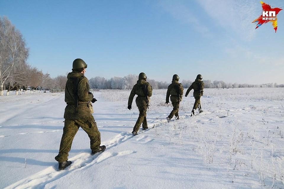 Учения проходили возле села Косиха.