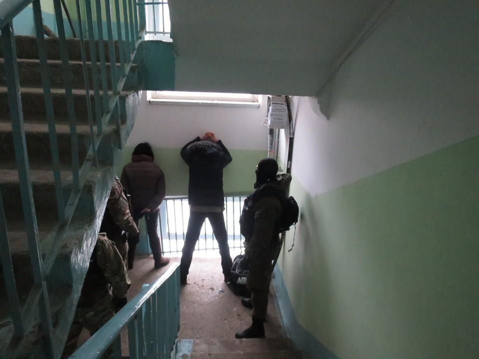 Силовики поймали подозреваемых в Кировском районе Самары ФОТО: ГУ МВД России по Самарской области