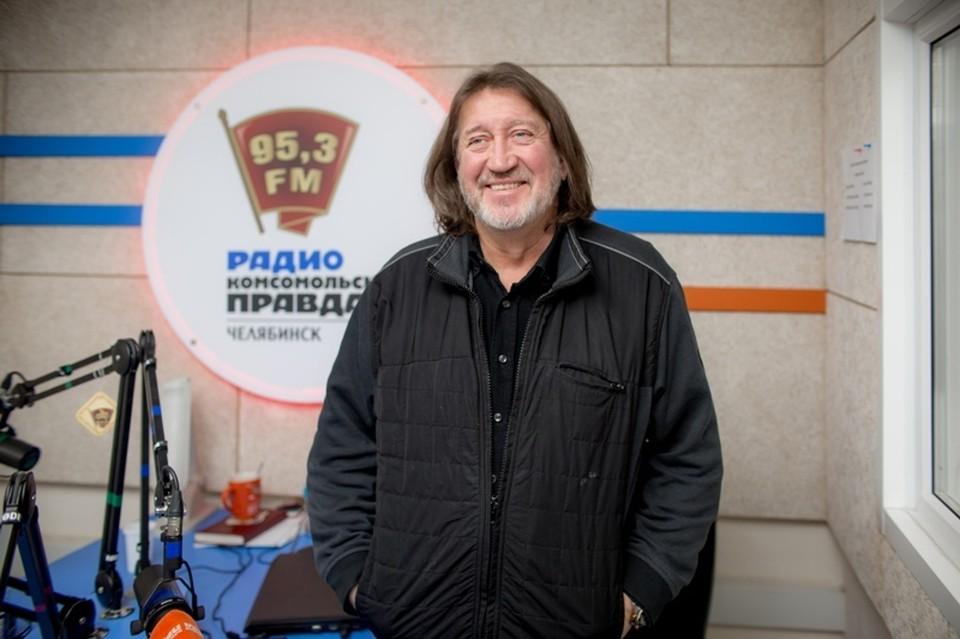 Олег Митяев: фото на память после эфира на радио «Комсомольская правда» (95.3 FM)