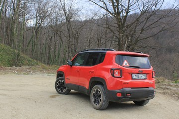 Тест-драйв Jeep Renegade Trailhawk