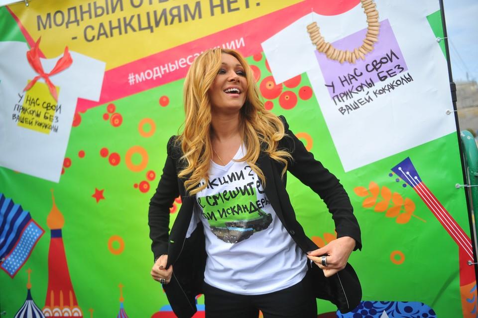 А Анжелика Агурбаш санкций не боится!