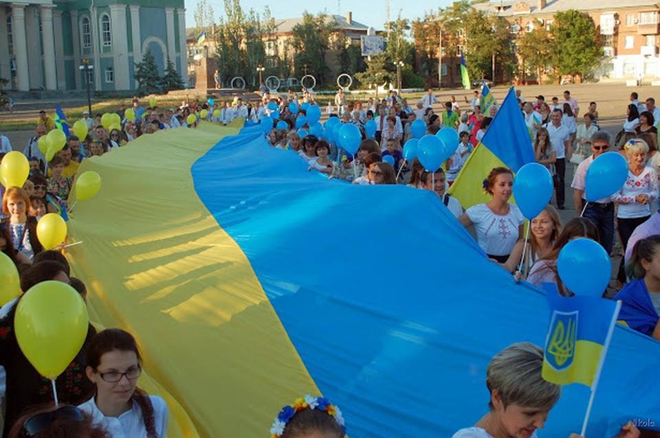 Националистические настроения затмили разум.ФОТО: www.sever.lg.ua