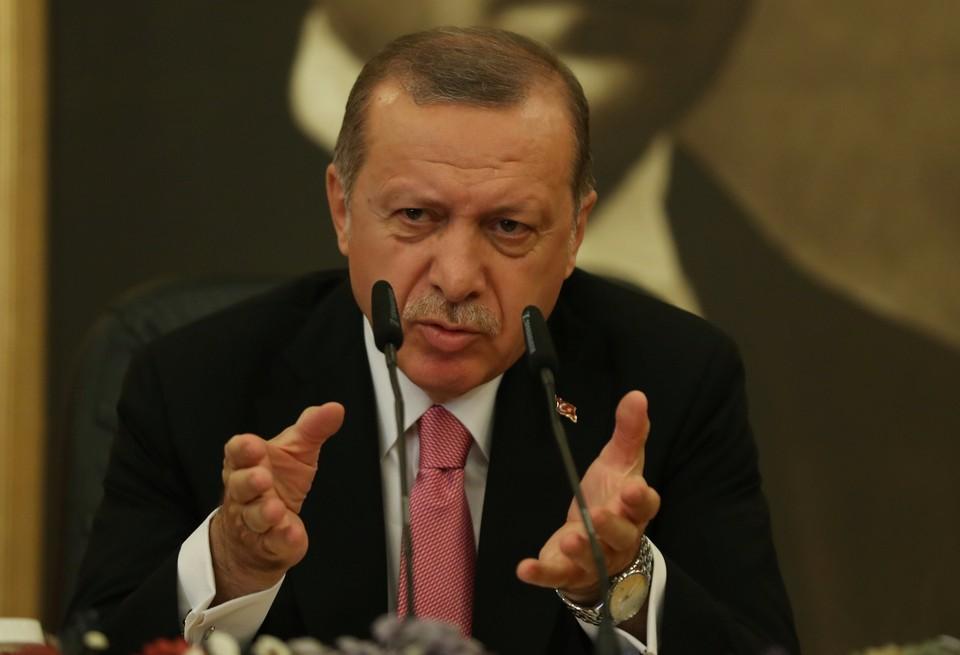 Турецкий лидер Реджеп Эрдоган