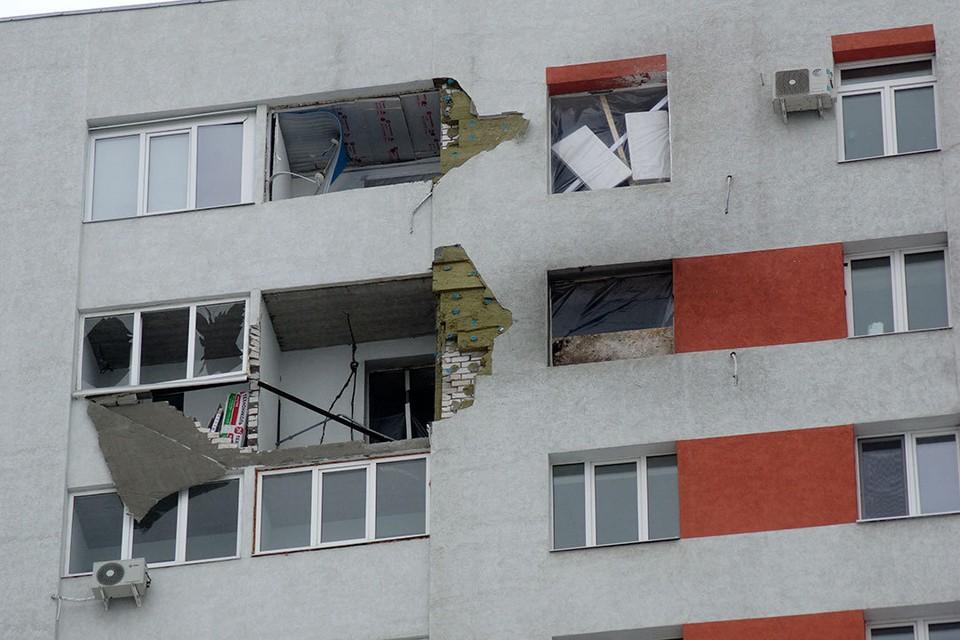 5 февраля в Самаре на ул. Димитрова в ремонтируемой квартире взорвался газовый баллон