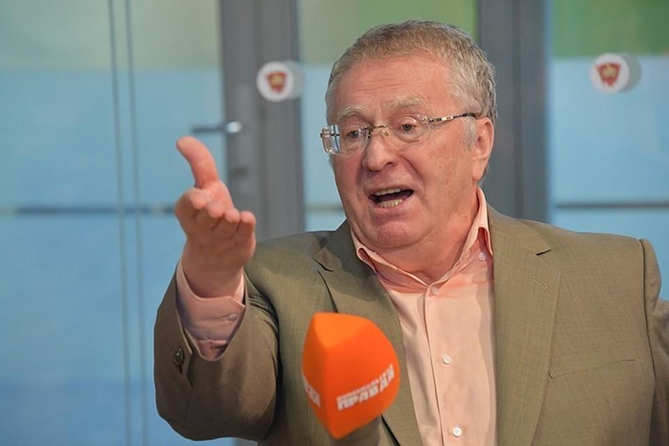 Жириновский напомнил Собчак, кто писал статью Конституции о количестве президентских сроков