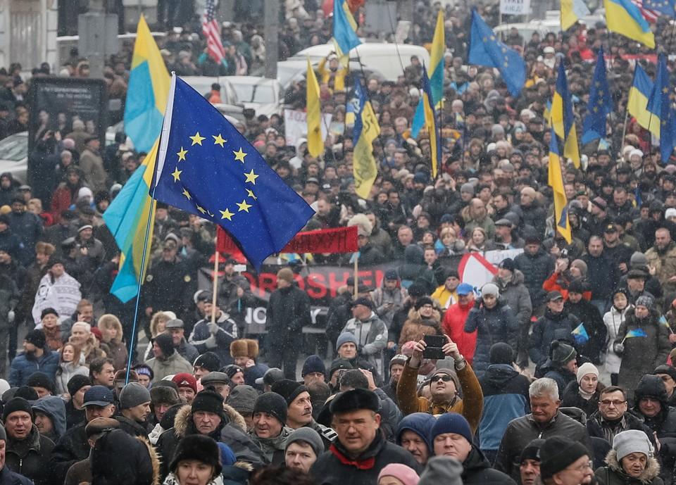 Европа может начать давить на Украину в случае ее уклонения от выполнения Минских договоренностей