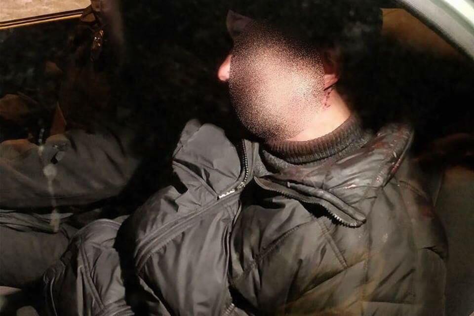 Бывший участник силовой операции в Донбассе напал на полицейских с гранатами. Фото: Главное управление Нацполиции в Киевской области.