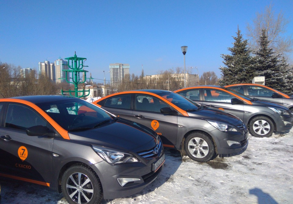 На презентацию в Самаре привезли все свои автомобили в регионе