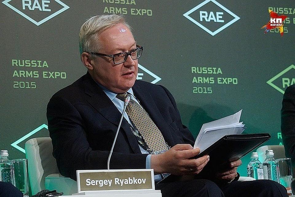 Замминистра иностранных дел РФ Сергей Рябков