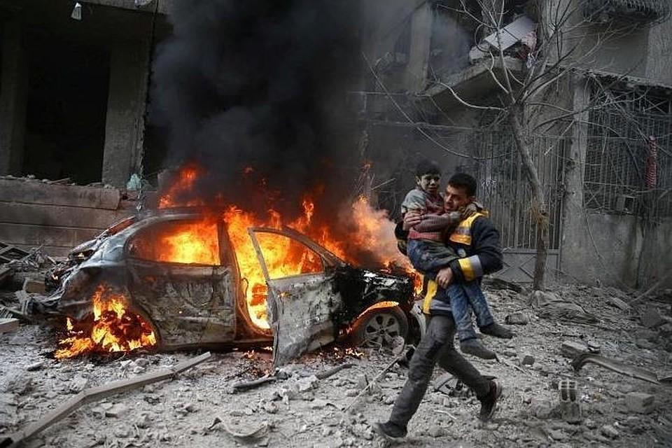 Боевики сорвали первую гуманитарную паузу в сирийской Восточной Гуте