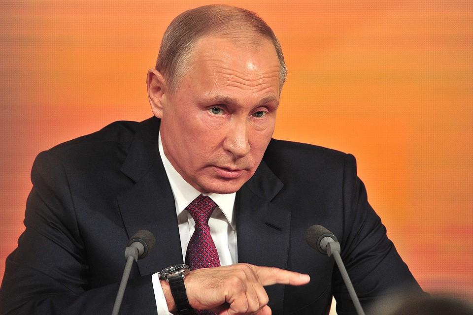 Президент России Владимир Путин. Фото: Киселев Сергей АГН Москва