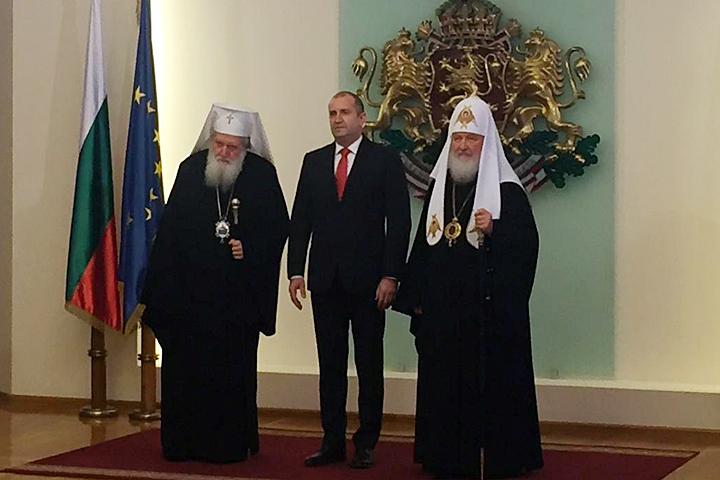 Святейший публично высказал свое недовольство первому лицу Болгарии