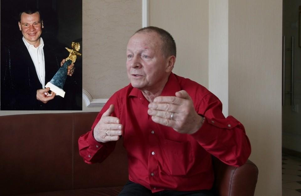 Борис Галкин привез в Екатеринбург картину, посвященную его сыну Владиславу.