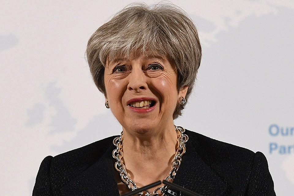 Тереза Мэй выступила в парламенте по делу Скрипаля. Она выглядела очень воинственной