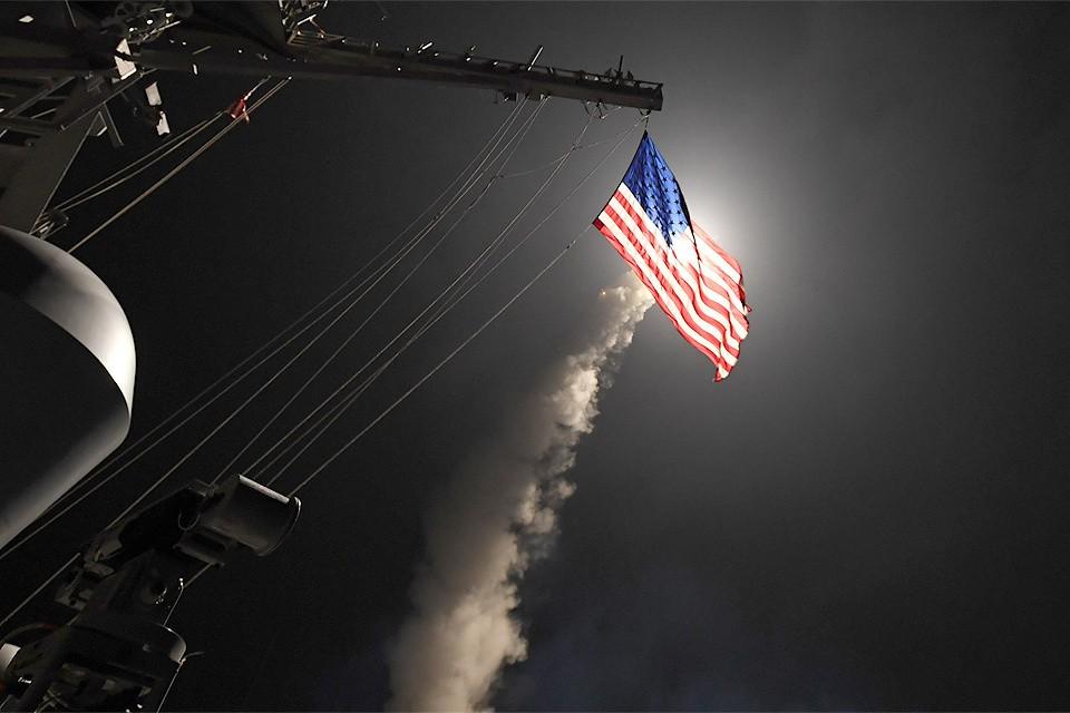 7 апреля 2017 года США нанесли ракетный удар по сирийской авиабазе Эш-Шайрат в провинции Хомс.