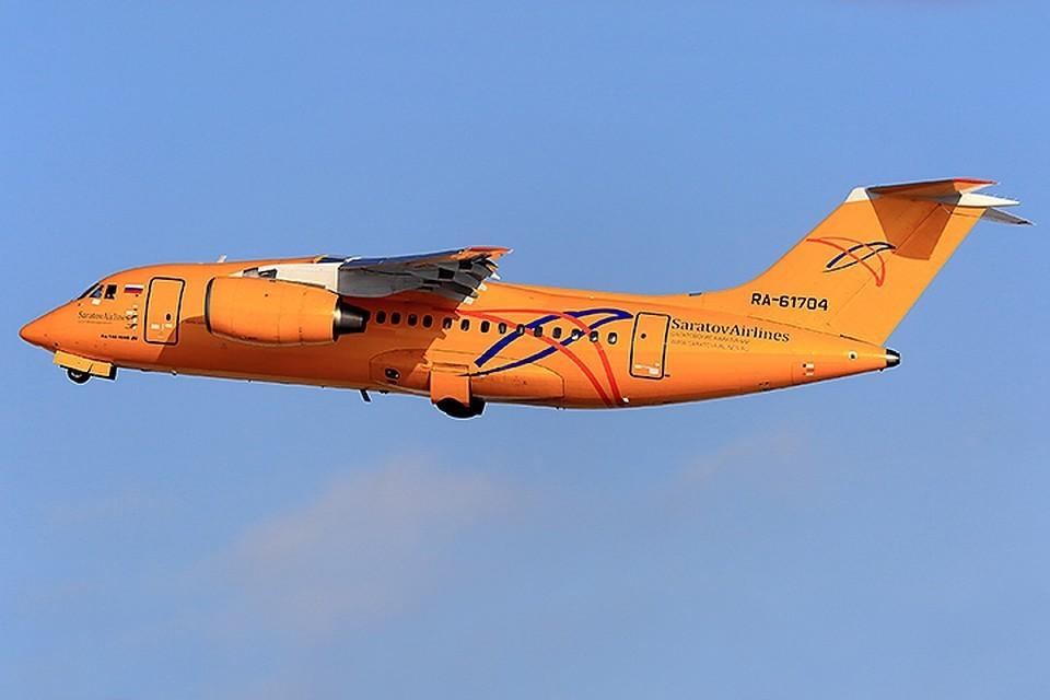 Полеты самолетов Ан-148 приостановлены в России