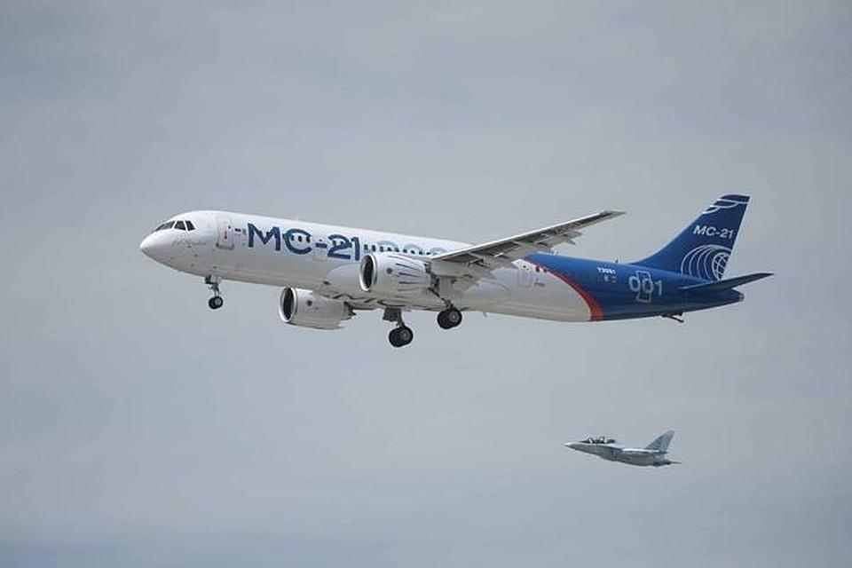 Строительство второго экземпляра самолета МС-21 завершено на Иркутском авиазаводе
