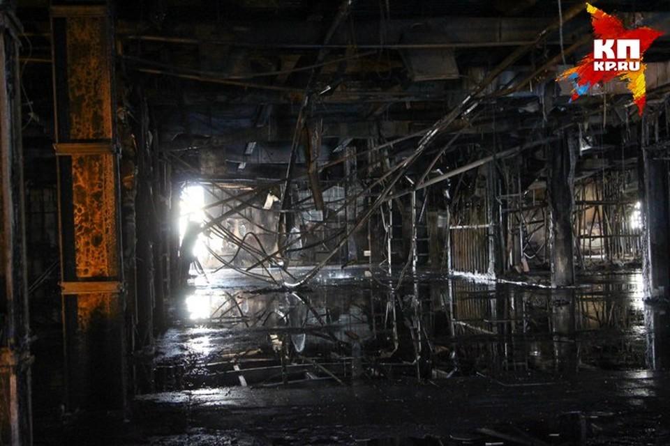 Основная причина пожара в ТЦ Зимняя вишня в Кемерове - поджог