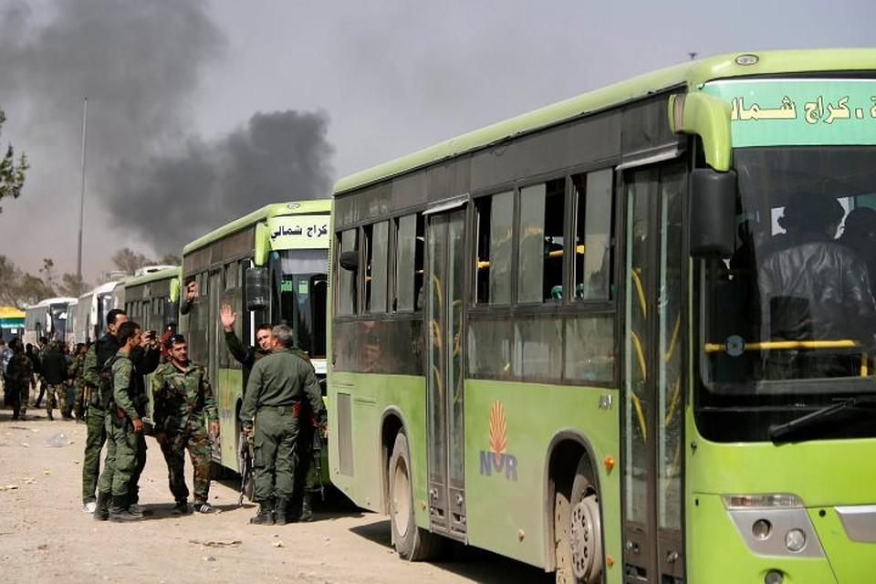 Сирийская армия освободила от террористов все города Восточной Гуты