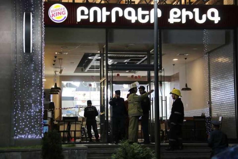 Burger King в Ереване. Фото: twitter.com/@avanesov_art