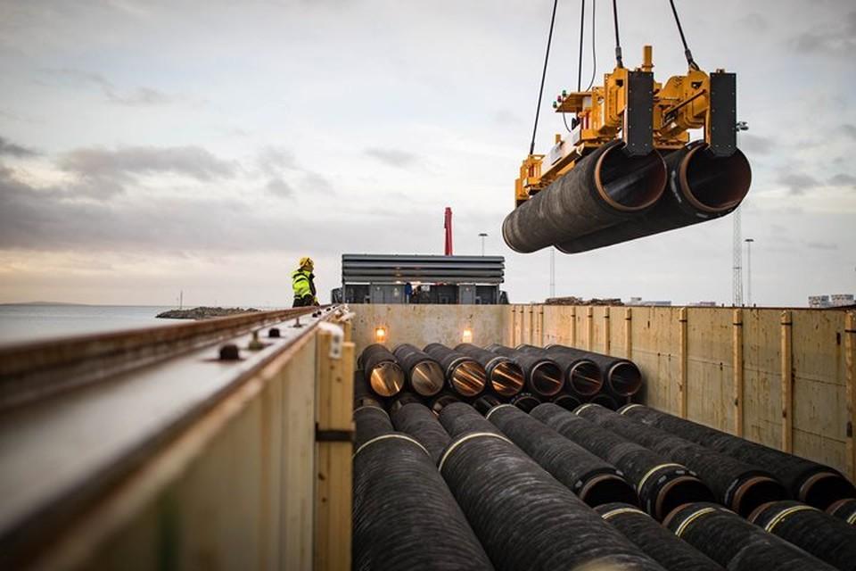 Газопровод «Северный поток-2» должен связать Россию и Германию по дну Балтийского моря