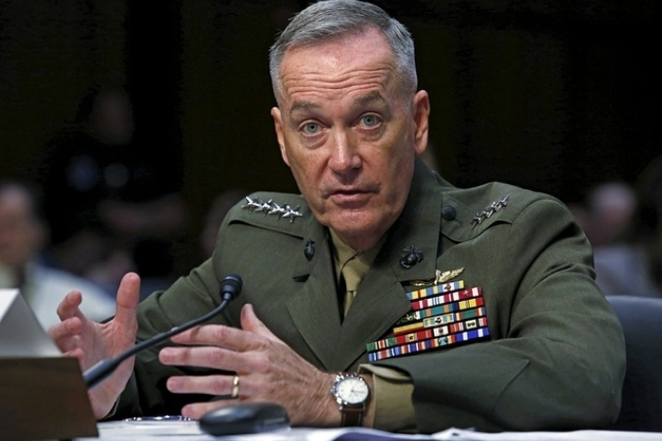 Председатель Объединенного комитета начальников штабов вооруженных сил (ВС) США Джозеф Данфорд