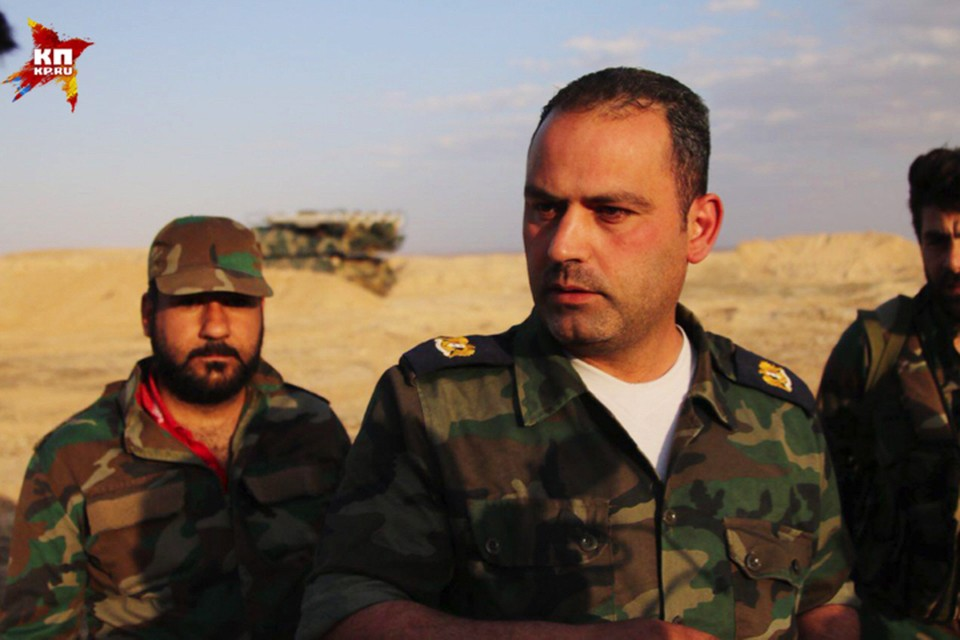 Майор Мухамед - командир экипажа «Бука», разобравшегося с ракетами над авиабазой Думейр