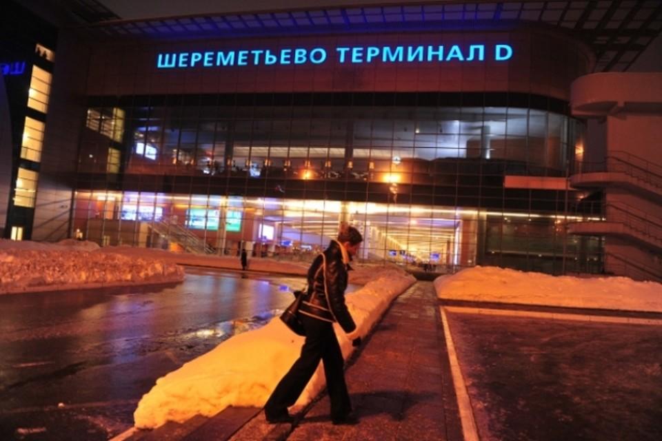 В Шереметьево женщина упала на багажную ленту