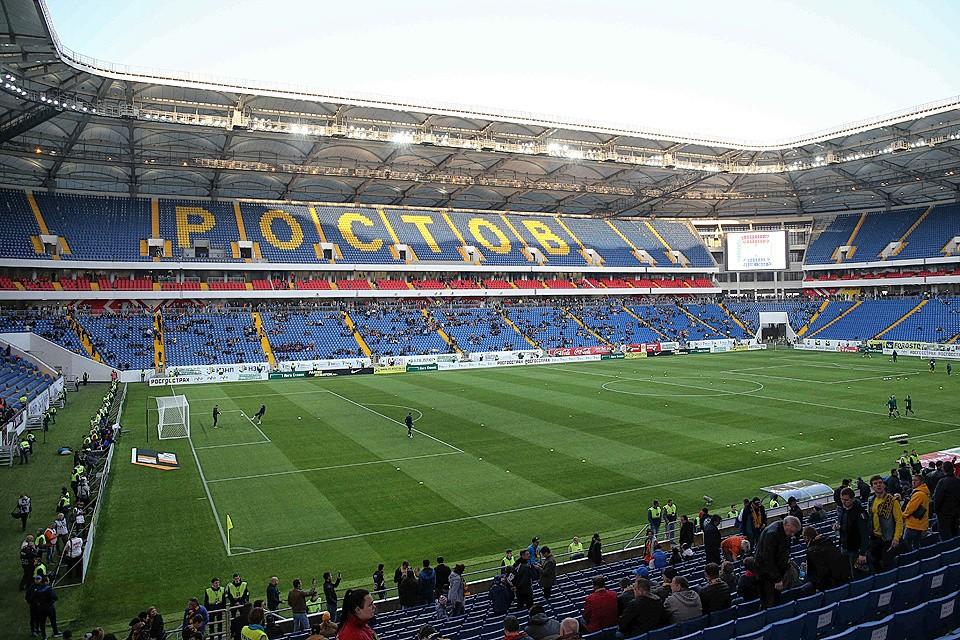 Новый стадион в Ростове-на-Дону уже готов принять матчи чемпионата мира.