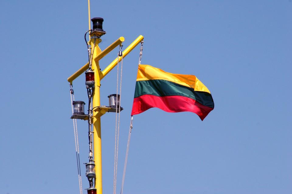 На месте инцидента в литовской столицы работают полицейские и спасатели