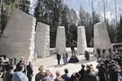 «Они лежат рядом — русские и поляки...»: В Смоленской области после реконструкции открылся мемориальный комплекс «Катынь»