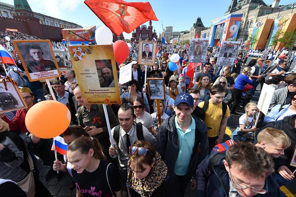 В Москве акция собрала рекордный 1 миллион (!) участников.