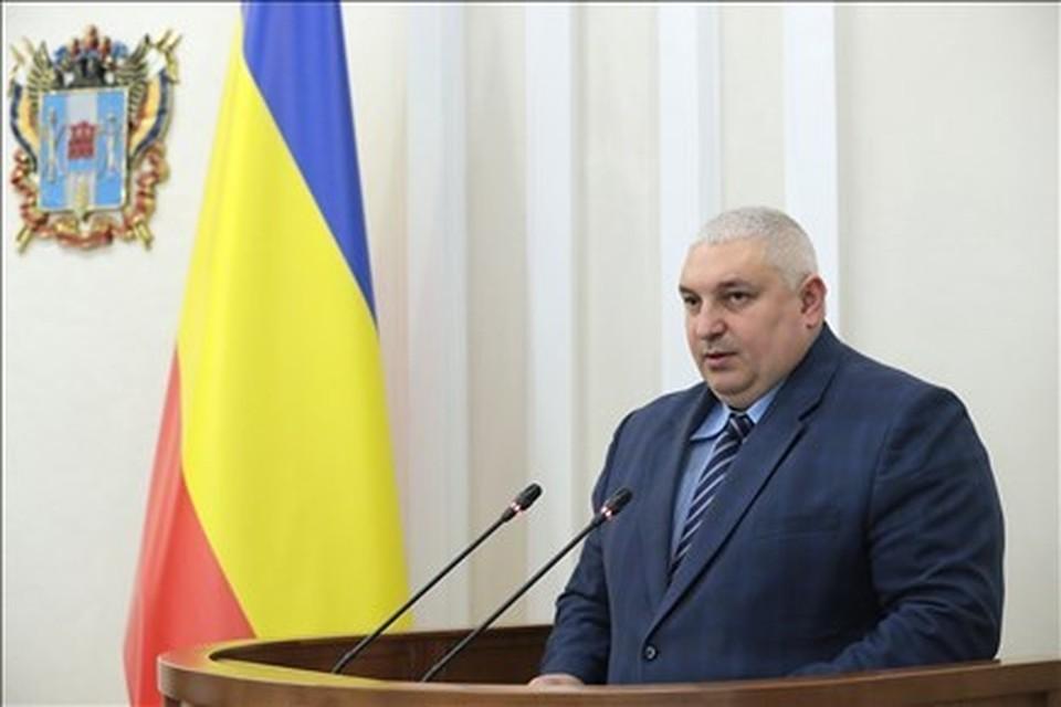 46-летний Николай Безуглов проработал в этой должности больше трех лет. Фото: правительство РО.