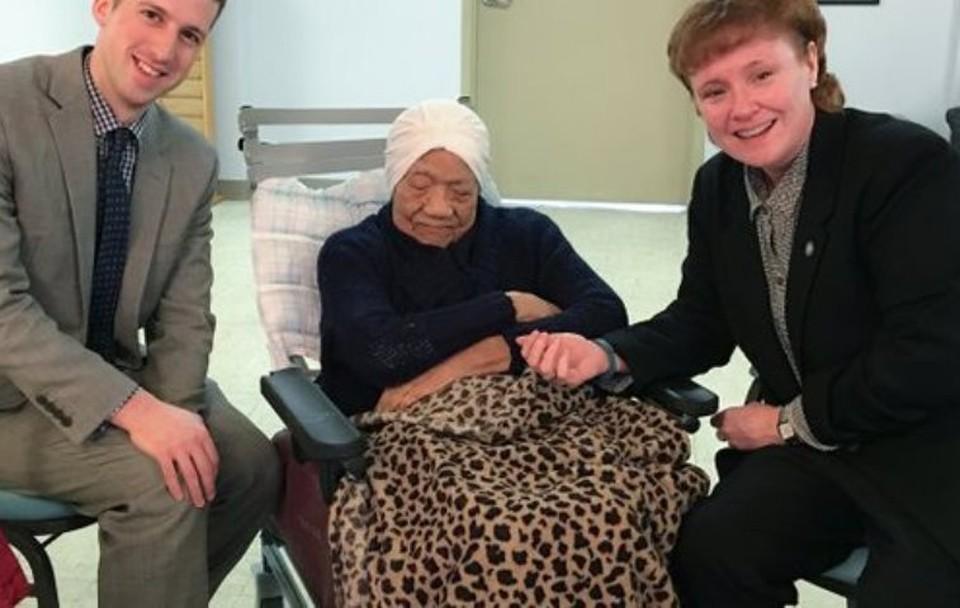 Американка Делфин Гибсон умерла в возрасте 114 лет