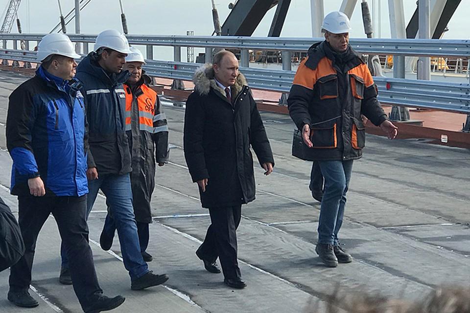 Владимир Путин лично курировал ход строительства и четырежды инспектировав ход работы