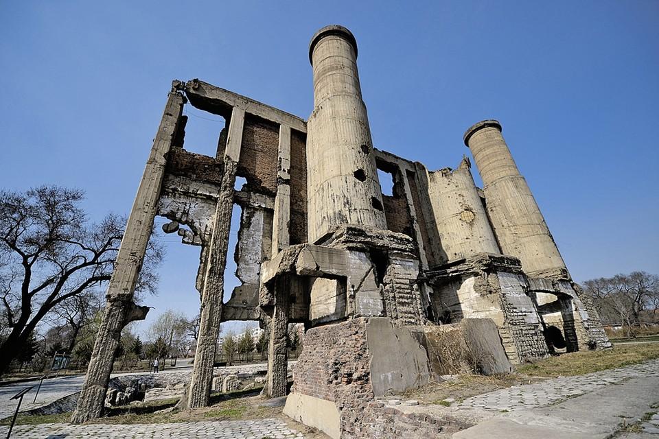 Руины сооружений отряда № 731 в Харбине (Северо-Восточный Китай).