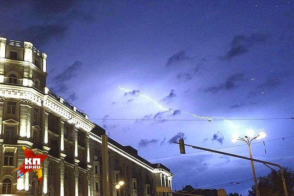 МЧС распространило экстренное предупреждение о неблагоприятных погодных явлениях в Москве