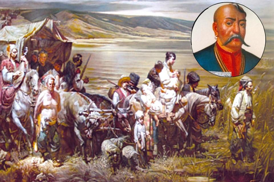 22ee1b1f038c Переселение казаков на Кубань  225 лет со дня прибытия отрядов ...