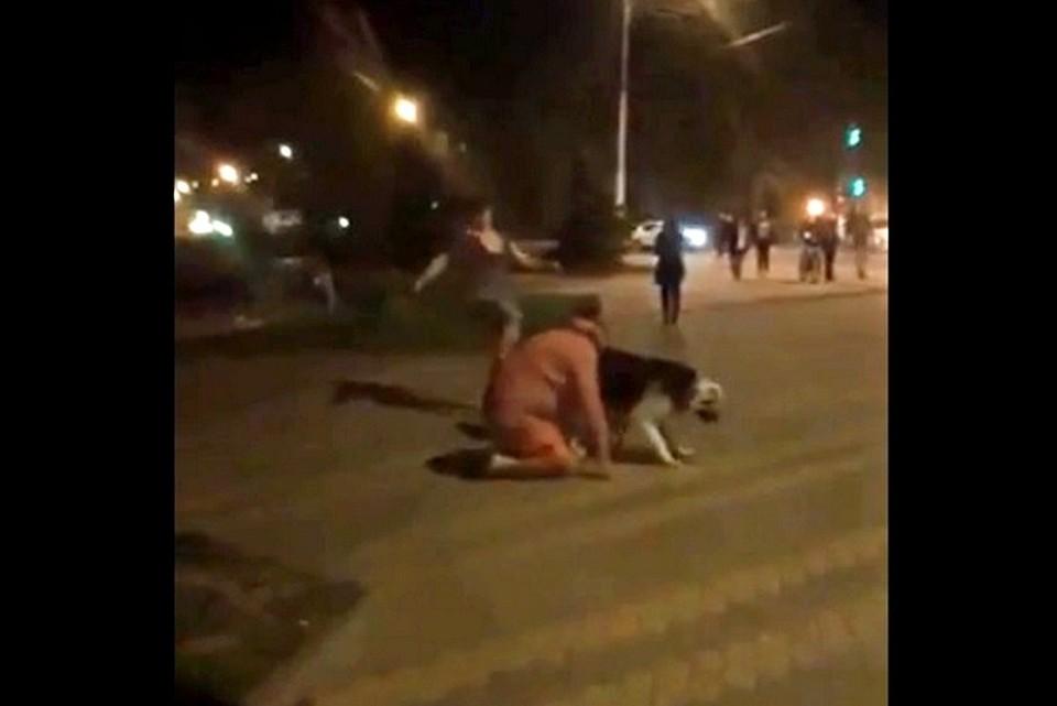 Драка на площади Революции