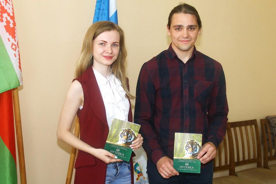 Дарья Воронина и Антон Федоров стали единственными нижегородцами, попавшими в отряд «Амурский тигр».