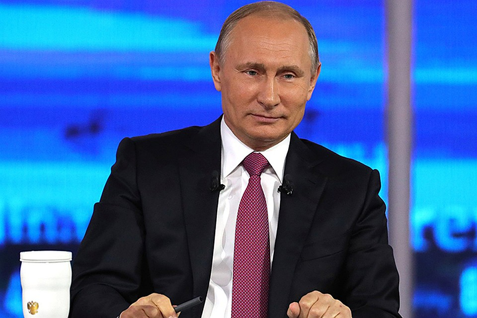 Путин в прямом эфире будет переадресовывать вопросы из регионов их непосредственным руководителям