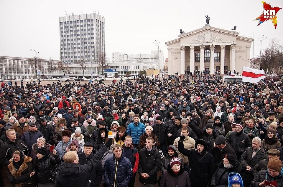 В Беларуси принят новый закон о массовых мероприятиях