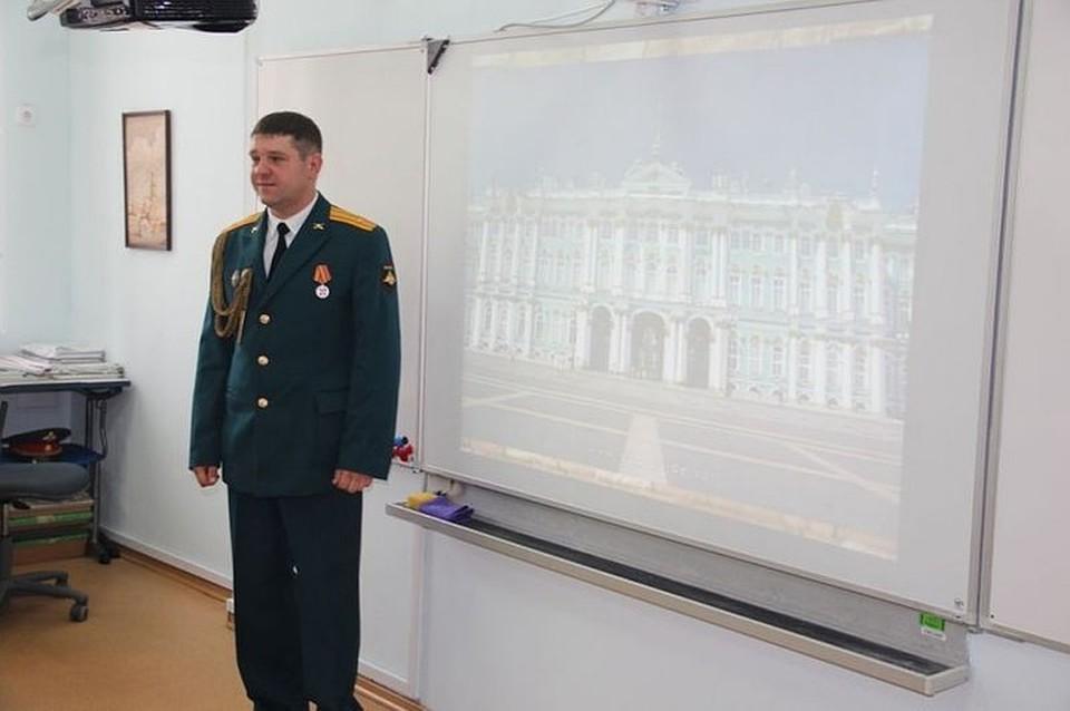 Погибший был преподавателем Санкт-Петербургского военного кадетского корпуса Фото: Санкт-Петербургский военный кадетский корпус