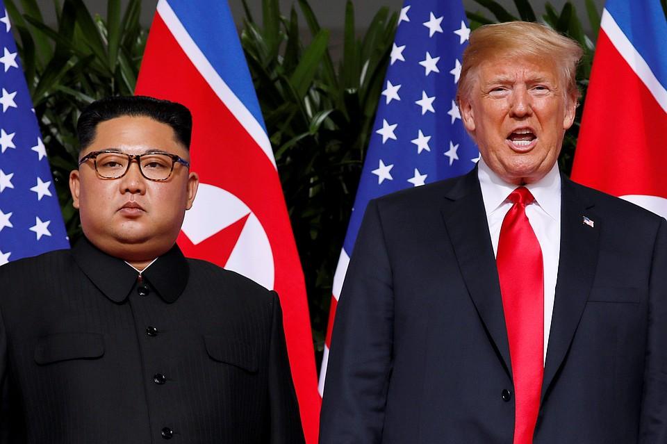 Трамп и Ким Чен Ын подписали «очень важный документ»