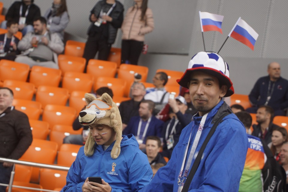 Жителей Екатеринбурга озадачилил пустые места на стадионе.