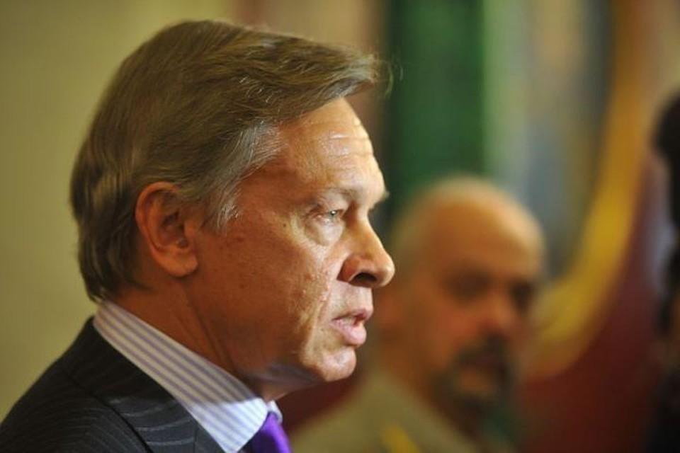 Глава комиссии Совета Федерации по информационной политике Алексей Пушков