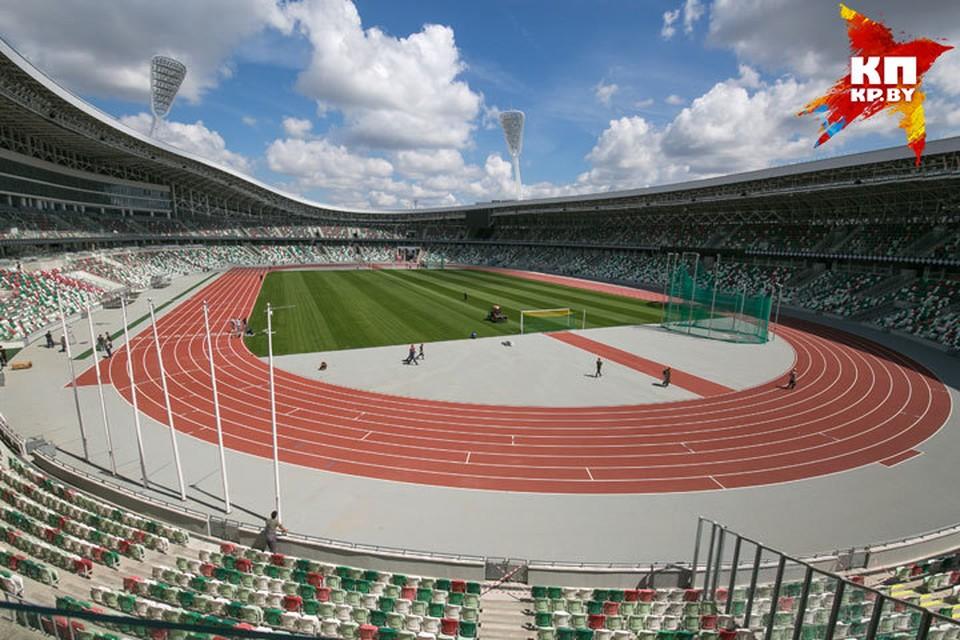 """Обновленный стадион """"Динамо"""". План реконструкции несколько раз менялся. В итоге работы длились шесть лет."""