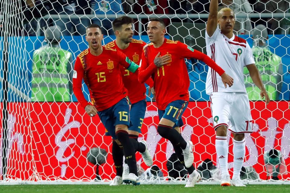 Испания на последних секундах вырвала ничью у Марокко - 2:2.