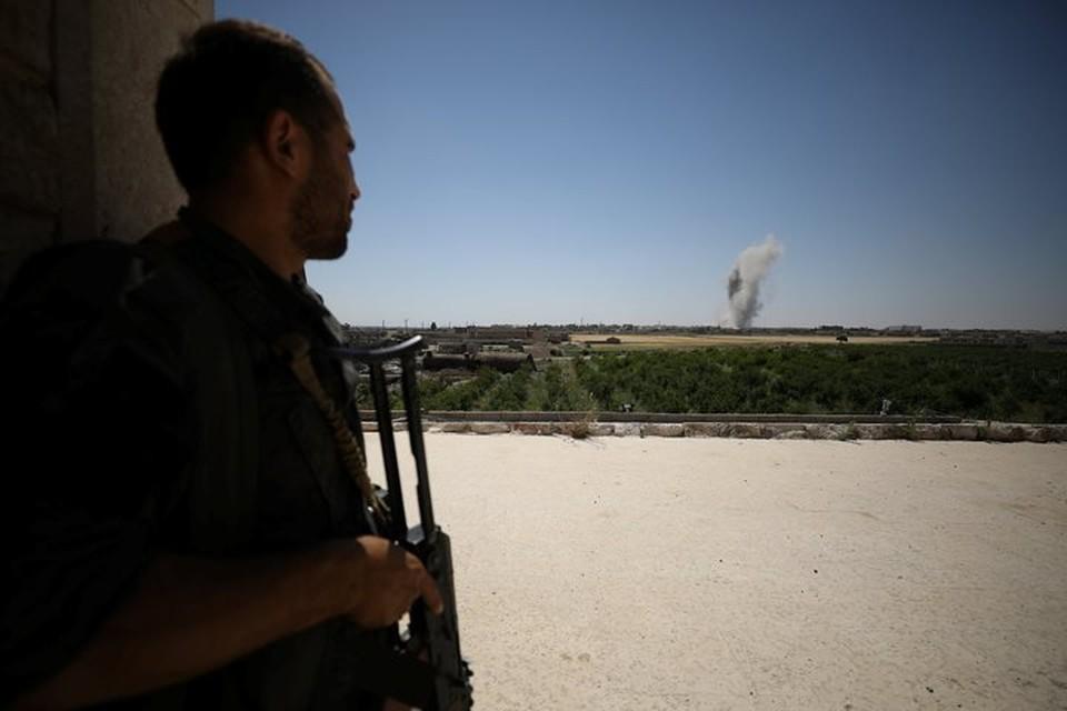 Израильские ракеты поразили объекты недалеко от аэропорта Дамаска