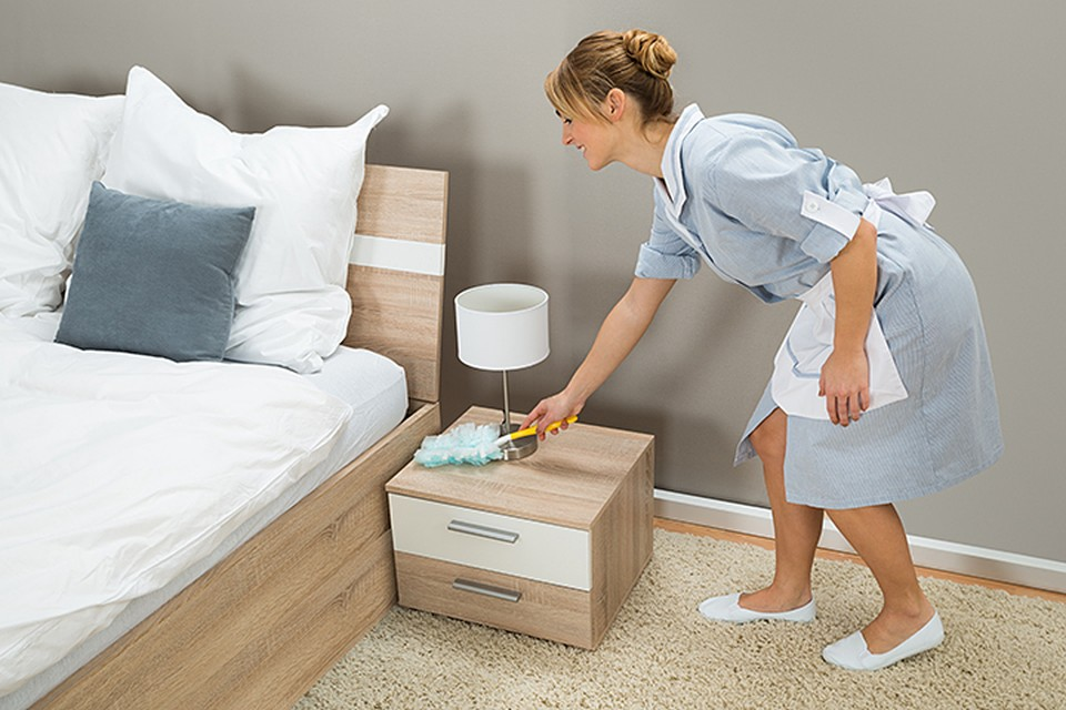 Гостиничная постель в среднем используется 5 лет, и за это время на ней спит 1370 постояльцев